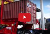 Опрокидыватель для разгрузки 20-футовых контейнеров