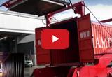 Опрокидыватель для разгрузки 40-футовых контейнеров