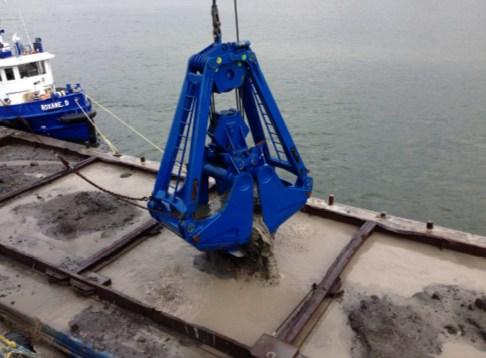 Морские грейферы и захваты