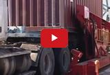 Кантователь контейнеров A-WARD для загрузки зерна