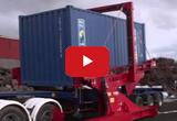 Опрокидыватель 20-футовых контейнеров A-WARD для загрузки металлолома